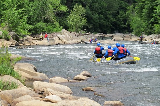Ohiopyle State Park: Rafting the Youghiogheny River