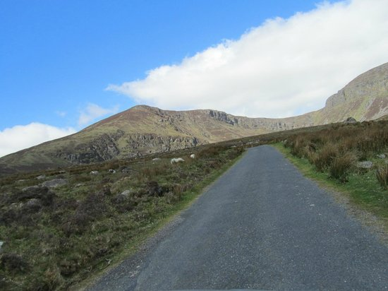 Comeragh Drive : on the way up...
