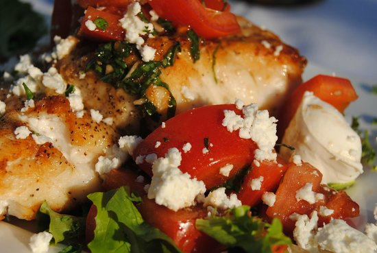 Angus Seafood Meats Spirits: Athenian Chicken