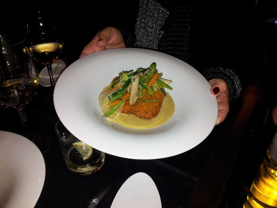 Sharme Restaurant Lounge bar : Hauptgang
