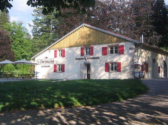 Brasserie La Gérômoise: l'entrée de la Gérômoise
