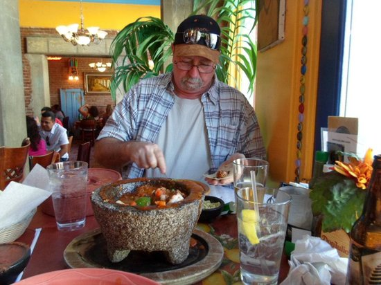 Santiago's Mexican Restaurant: Can't wait to dig in!