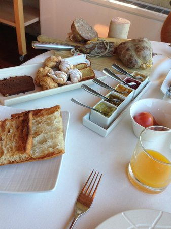 Mas Albereda: Breakfast