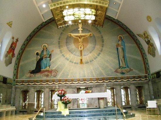 National Shrine of St. Elizabeth Ann Seton: Church