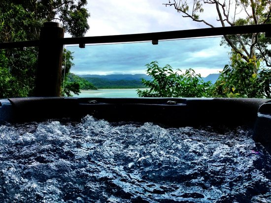 Bloomfield Lodge: View from the hot tub in the Bloomfield Suite