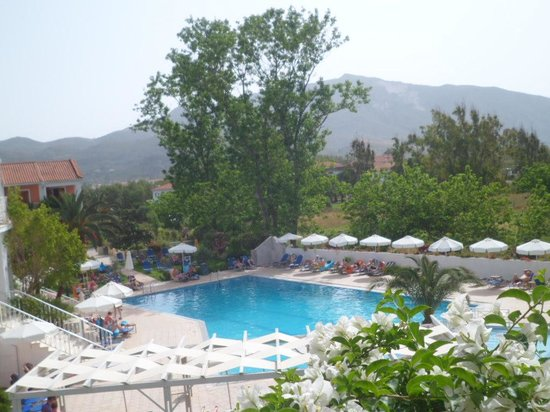 Bitzaro Palace Hotel: view from our balcony