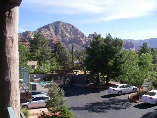 Southwest Inn at Sedona: View from room