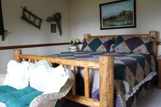 North Country Bed and Breakfast: Zimmer mit Blick zum See