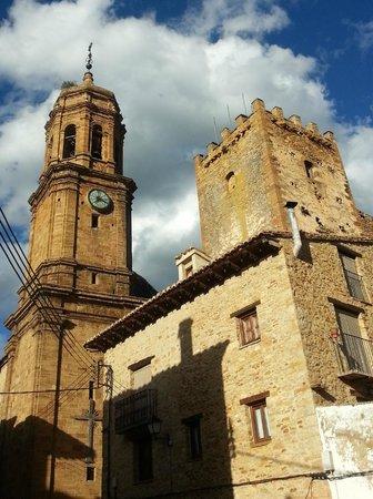 Hospedería de la Iglesuela del Cid: pittoreske dorpen in prachtige omgeving