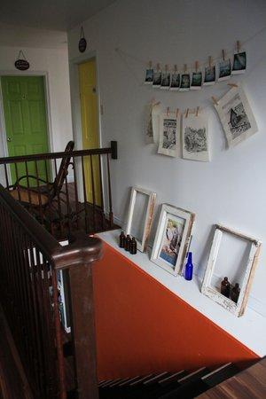 HI Trinity Skerwink Hostel: the hallway