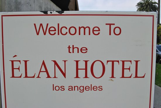 Elan Hotel: just outside