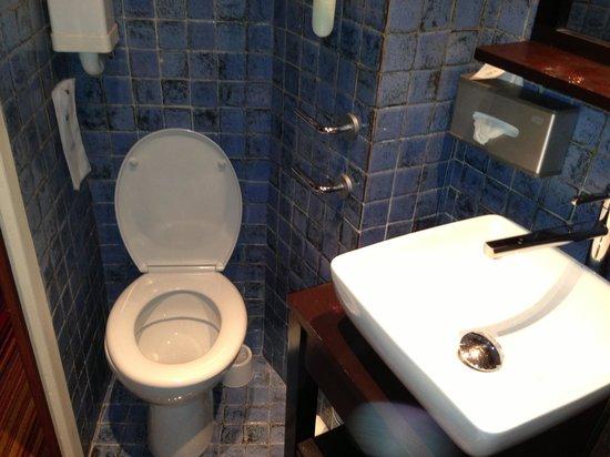 Hôtel Trianon Rive Gauche: the toilet