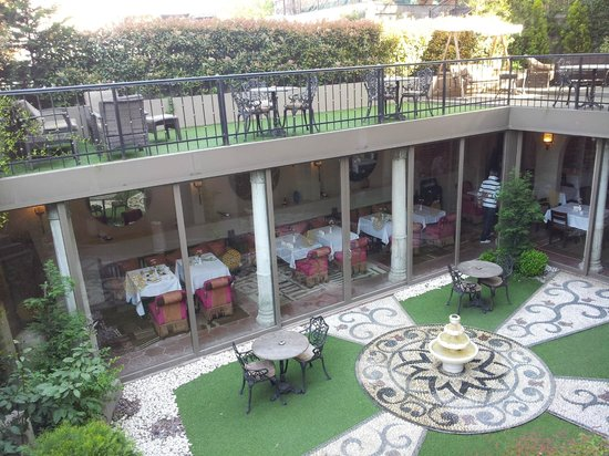 Sokullu Pasa Hotel: Зал для завтраков