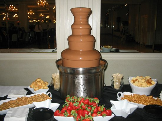 Grant Park, IL: Milk Chocolate Fountain