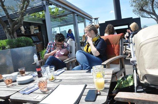 The Boundary Restaurant: super for sunday morning family gatherings