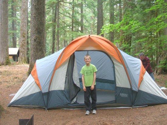 Ohanapecosh Campground : 'Home Sweet Home'