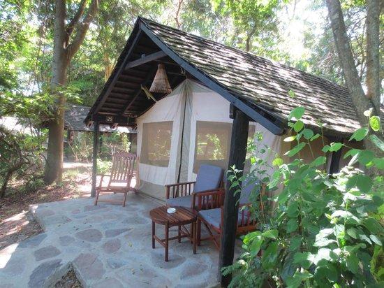 Sarova Mara Game Camp: Tent balcony
