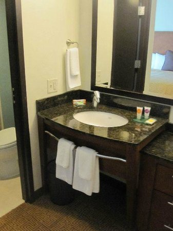 Hyatt Place Mohegan Sun: Sink area