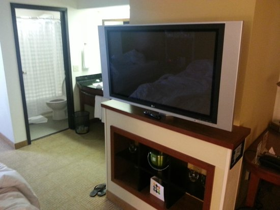 Hyatt Place Colorado Springs: Nice TV..w HDMI input!