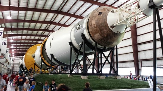 Saturn V - Picture of Space Center Houston, Houston ...
