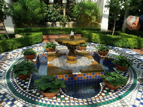 The Arabic Garden Picture Of Missouri Botanical Garden Saint Louis Tripadvisor