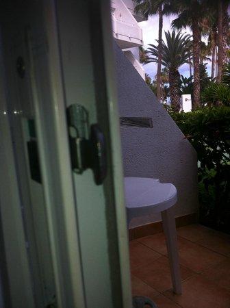 Sol Lanzarote All Inclusive: POOR LOCK FOR EXTERNAL DOOR