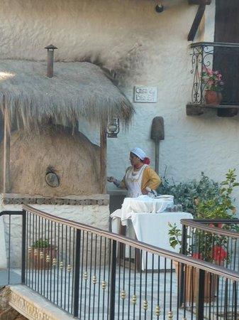 Hotel Boutique Mi Pueblo Samary: Horno de barro en la terraza