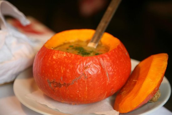 Gostilna Lectar: Pumpkin soup at Lectar restaurant