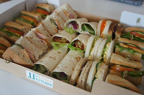 JJ's Kitchen: Sandwich platter