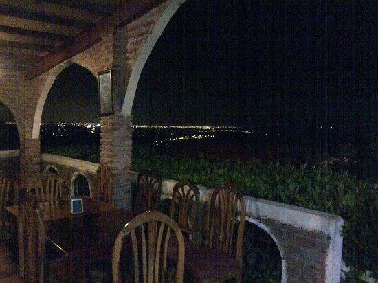 Trattoria Da Gabriele: Night view from restaurant 1