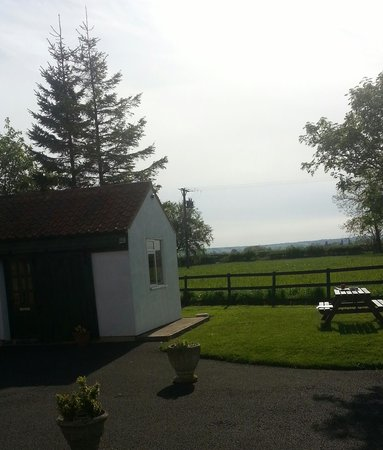 Setcops Farm Holiday Cottages: view from our accommodation