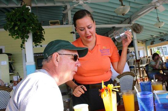 Southernmost Beach Cafe: Birthday margarita-at breakfast!!