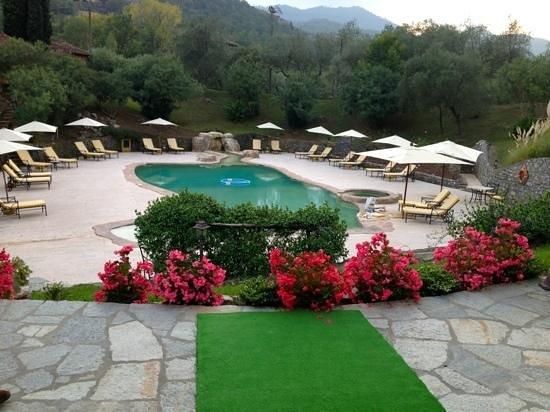 La Meridiana: The swimming pool