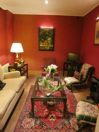 Relais Hotel du Vieux Paris: Lounge