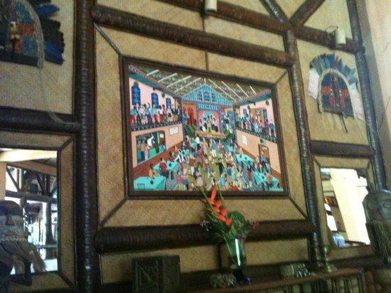 Orixás Art Hotel: Lobby - Obras de arte