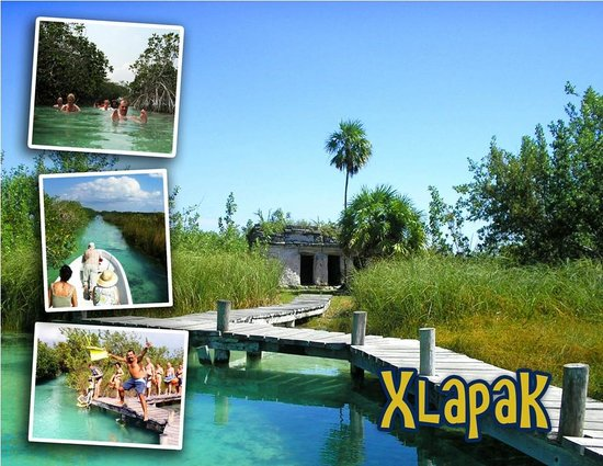 Sian Ka'an Jeep: swim in maya canal Biosphere of Sian ka'an