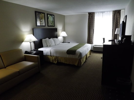 Holiday Inn Express Nicholasville: King room with sleeper sofa