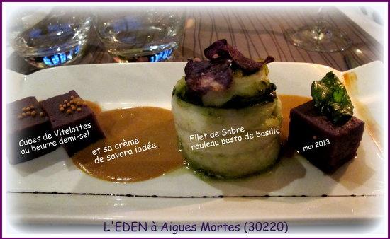 Eden : plat de poisson extra