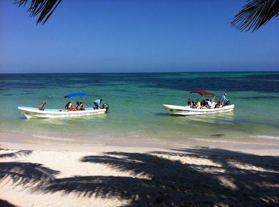 Mexico Maya Caribe: boat ride 3h