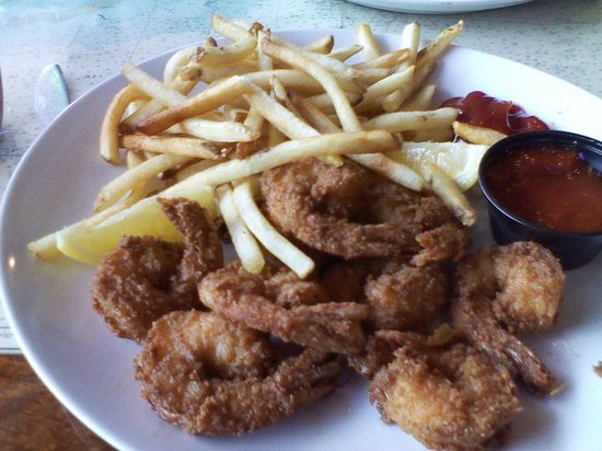 D-Hooker: Didn't see the grease puddles til after I had eaten 2 of the shrimp