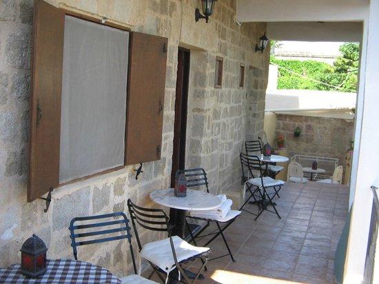 Kristinas Rooms: zalig genieten op prive terrasje