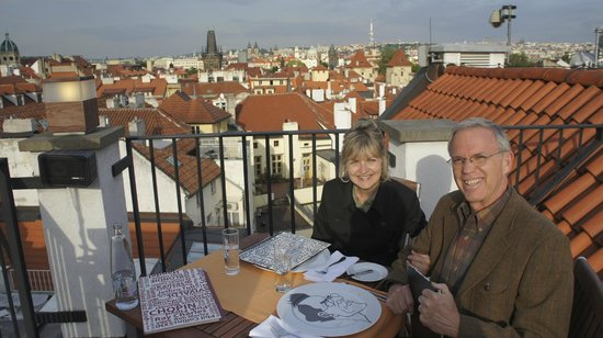 Coda Restaurant : Enjoying dinner with a view!!!