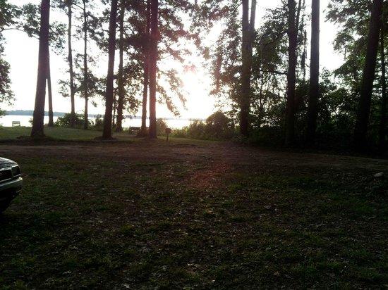 Three Rivers State Park: The beautiful sunrise over Lake Seminole