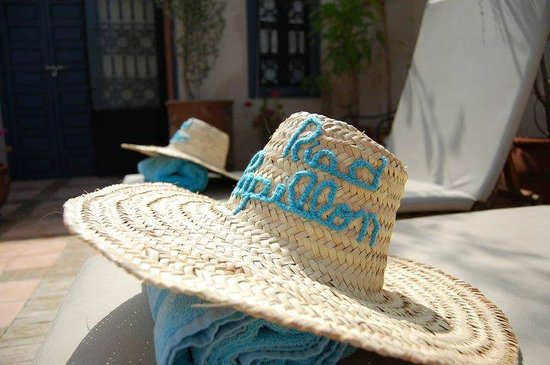 Riad Papillon : Rooftop Lounge Chairs