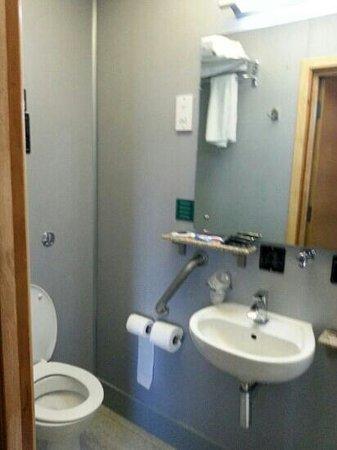 Premier by Eurotraveller: tiny shower room