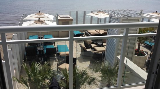 Oceanaire Resort Hotel : View from Room