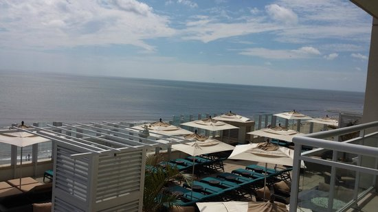 Oceanaire Resort Hotel : View above the Sun Deck