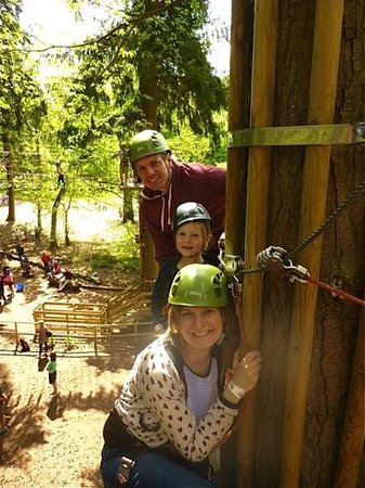 Go Ape at Thetford: terrific treetop fun