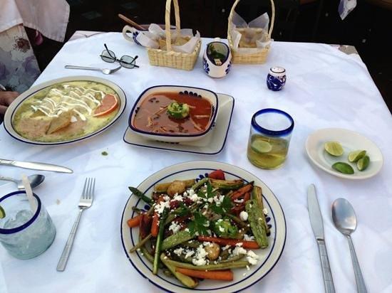 La Posadita: our dinner