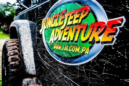 Jungle Jeep Adventure: Logo after off-road